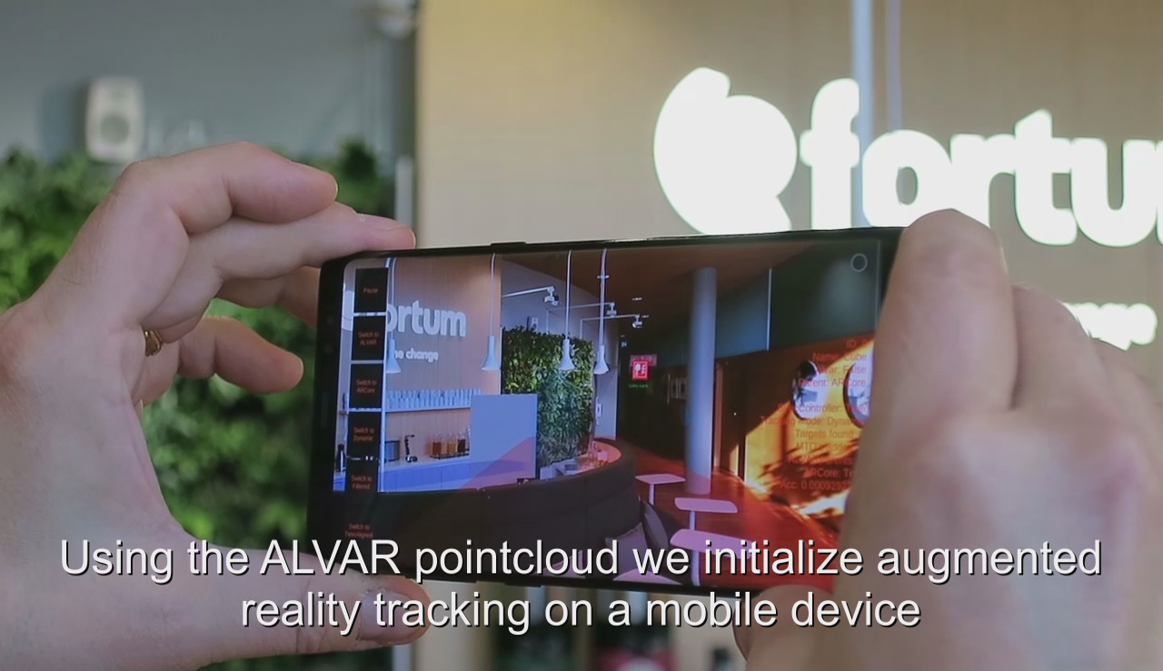 Augmented Reality / 3D Tracking | Videos