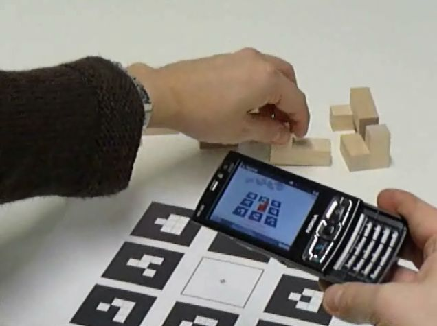 Augmented Assembly with Mobile Phones